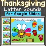 Thanksgiving Beginning Sounds Letter Sounds Google Classro