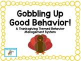 Thanksgiving Behavior Management