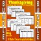 Thanksgiving - Big Bundle - 8 Math-Then-Graph Activities - Finding Vertices