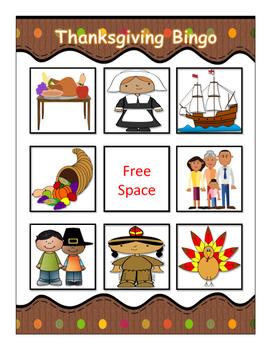 Thanksgiving Bingo!