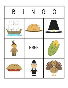Thanksgiving Bingo!