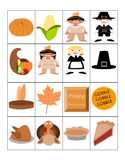Thanksgiving Bingo - Cut & Paste