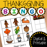 Thanksgiving Bingo Activity | Digital and Printable Game