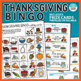 Thanksgiving Bingo Activity with bonus Rewards Cards