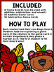 Thanksgiving Bingo {Addition and Subtraction within 10}