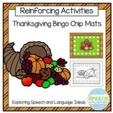 Thanksgiving Bingo Chip Mats