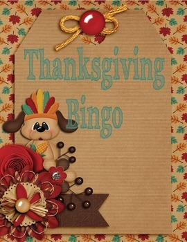 Thanksgiving Bingo Differentiated