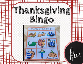 Thanksgiving Bingo FREE
