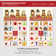 Thanksgiving Bingo & Memory Game, Printable Thanksgiving Game
