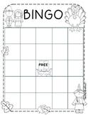 Thanksgiving Bingo Sheet