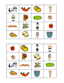 Thanksgiving Bingo- Spanish/English