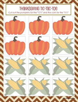 Thanksgiving Activities (6 Games/Activities) Printable and Perfect for Kids!