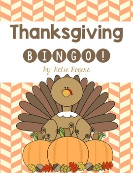 Thanksgiving Bingo {including 24 filled in boards}