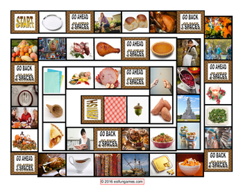 Thanksgiving Board Game