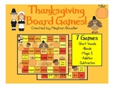 Thanksgiving Board Games (Math and Literacy)