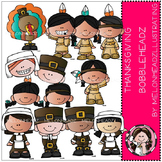 Thanksgiving clip art - Bobbleheadz - by Melonheadz