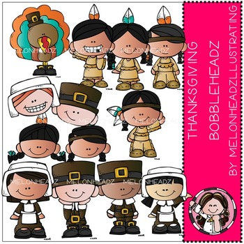Thanksgiving Bobbleheadz by Melonheadz COMBO PACK