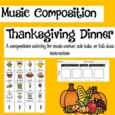 Thanksgiving Body Percussion Composing Activity