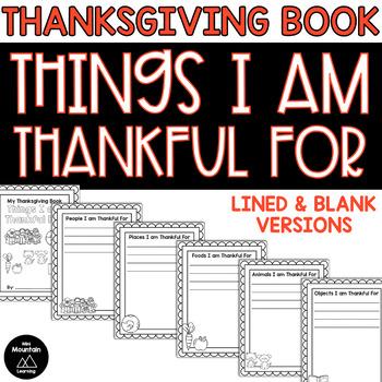 Thanksgiving Book