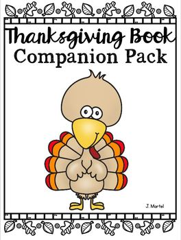 Thanksgiving Book Companion Pack (Read Aloud Activities for Thanksgiving)