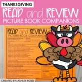 Thanksgiving Book Companions | Speech Therapy | NO PREP Pr