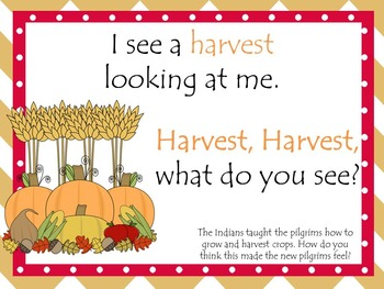 Thanksgiving Activities Book,Pocket Chart,Beginning Sound,Turkey What Do You See