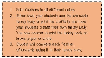November Thanksgiving Book Report