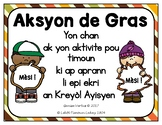 Thanksgiving Song and Writing Activity in Haitian Creole: school version