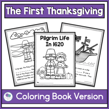 The First Thanksgiving Activities
