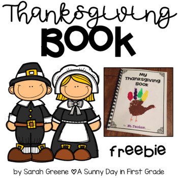 Thanksgiving Book {freebie!}