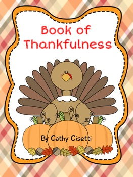 Thanksgiving Book of Thankfulness