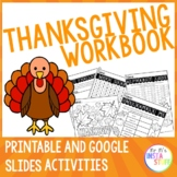 Thanksgiving Activity Booklet - NO PREP Bundle (2018 Edition)