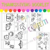 Thanksgiving Booklet - Colour me Confetti
