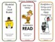 Thanksgiving Bookmarks - Set of 6