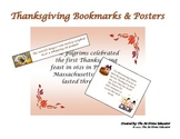 Thanksgiving Bookmarks and Posters