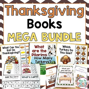 Thanksgiving Books MEGA BUNDLE