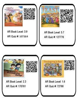 Thanksgiving Books QR Codes Vol 2