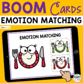 Thanksgiving Boom Cards Emotions Matching