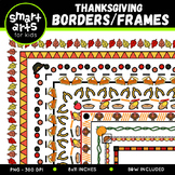 Thanksgiving Borders Clip Art