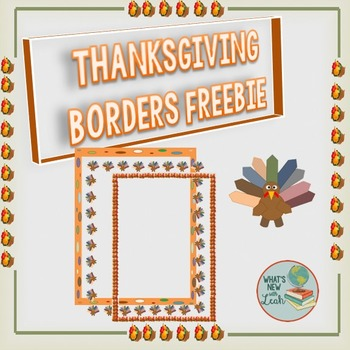 Thanksgiving Borders for Documents and PowerPoint