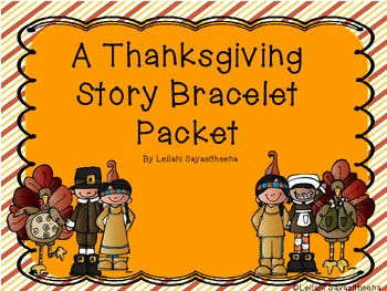 Thanksgiving Bracelet Packet