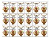 Thanksgiving Brag Tag