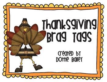Thanksgiving Brag Tags