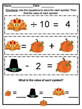 Thanksgiving Brain Teasers