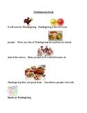 Thanksgiving Break - A Social Story