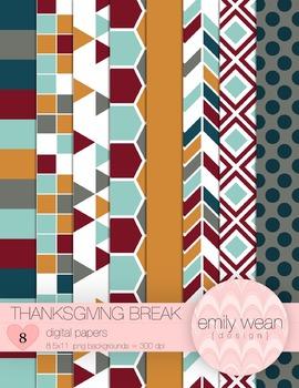 Thanksgiving Break - Digital Papers