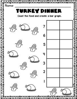 Thanksgiving Break Homework Kindergarten