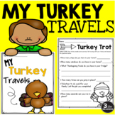 Thanksgiving Break Homework Packet: My Turkey Travels