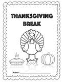 Thanksgiving Break Packet