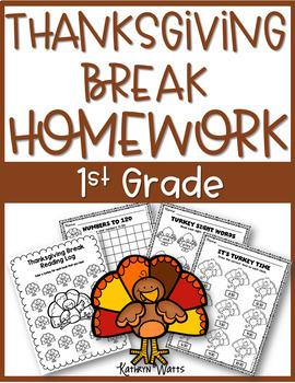 Thanksgiving Break Packet Bundle